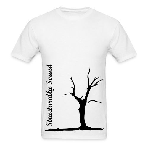 Structurally Sound Death Tree - Men's T-Shirt