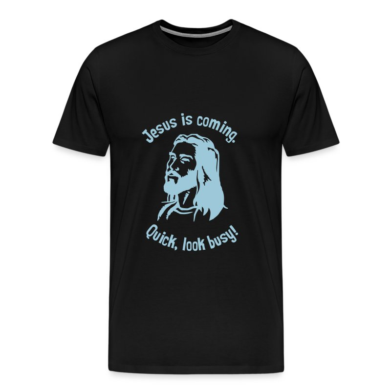 JESUS IS COMING - Men's Premium T-Shirt