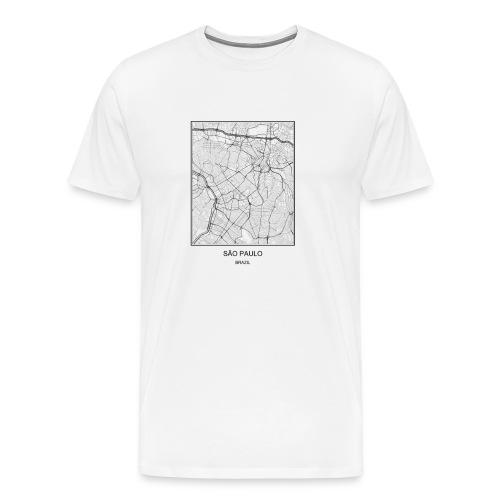 SAO PAULO BRAZIL - Men's Premium T-Shirt