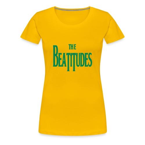 THE BEATITUDES - Women's Premium T-Shirt