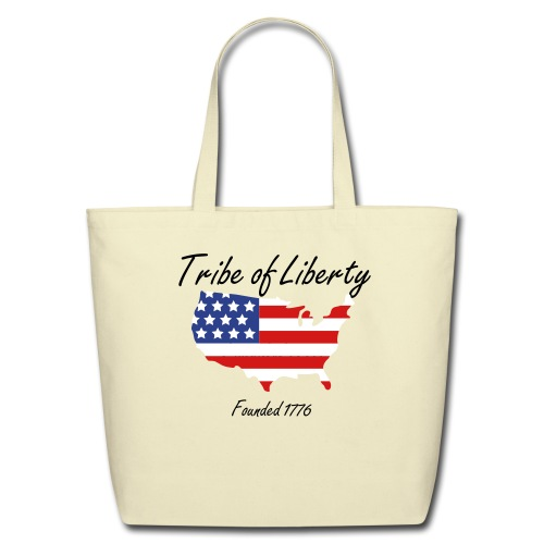 Tribe of Liberty Tote Bag - Eco-Friendly Cotton Tote