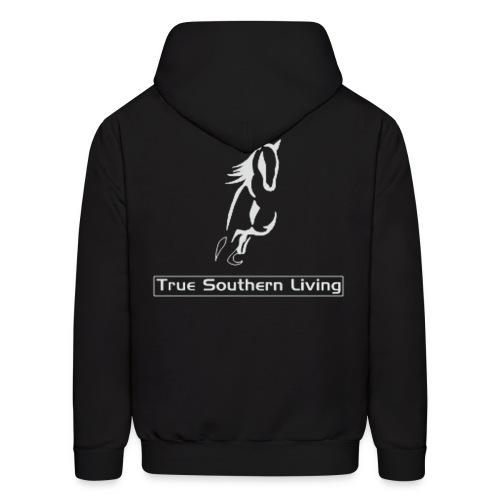 True Southern Living Hoodie for Men (logo on back) - Men's Hoodie