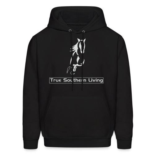 True Southern Living Hoodie for Men (logo on front) - Men's Hoodie