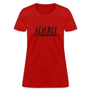 Science! (Women's) - Women's T-Shirt