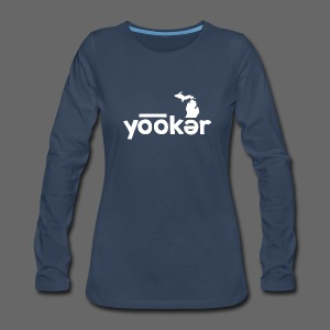 Yooker Euchre  - Women's Premium Long Sleeve T-Shirt