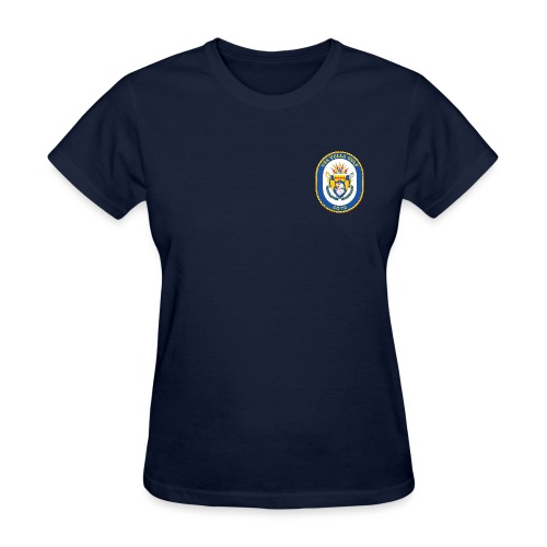 USS VELLA GULF CG-72 Crest Tee - Women's - Women's T-Shirt