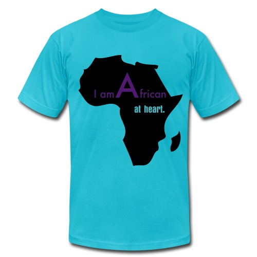 I Am African At Heart (Men's) - Men's Fine Jersey T-Shirt