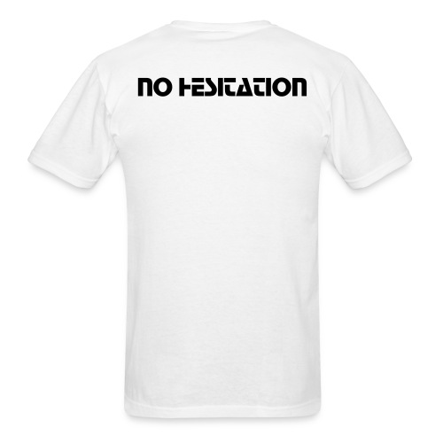 No Hesitation Back - Men's T-Shirt
