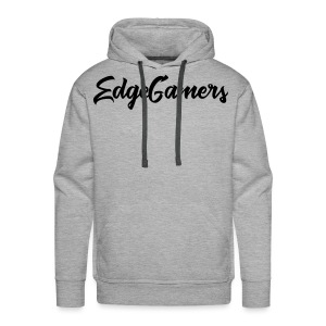 EdgeGamers Traditional Text w/ Arm Patch - Men's Premium Hoodie