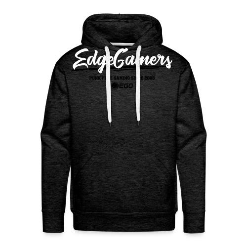 EdgeGamers Traditional Hoodie w/ Arm Patch - Men's Premium Hoodie