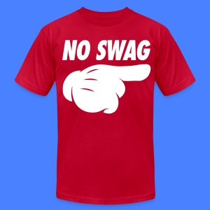 No Swag T-Shirts - stayflyclothing.com - Men's T-Shirt by American Apparel
