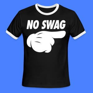 No Swag T-Shirts - stayflyclothing.com - Men's Ringer T-Shirt