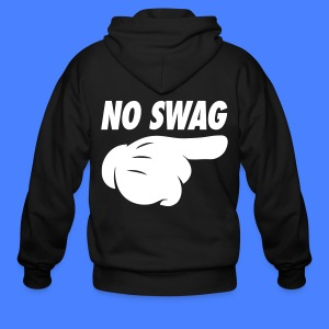 No Swag Zip Hoodies/Jackets - stayflyclothing.com - Men's Zip Hoodie