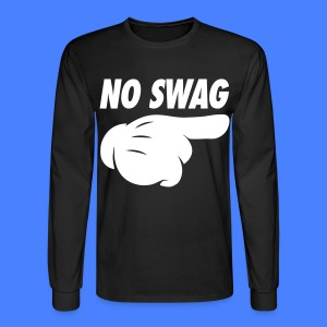 No Swag Long Sleeve Shirts - stayflyclothing.com - Men's Long Sleeve T-Shirt