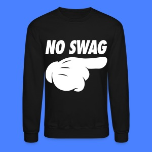 No Swag Long Sleeve Shirts - stayflyclothing.com - Crewneck Sweatshirt