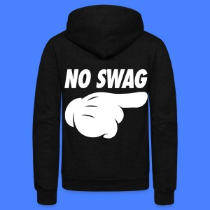 No Swag Zip Hoodies/Jackets - stayflyclothing.com - Unisex Fleece Zip Hoodie by American Apparel