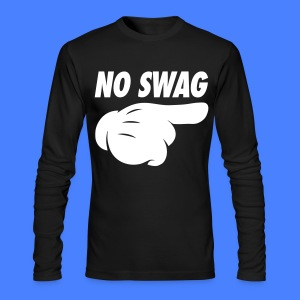No Swag Long Sleeve Shirts - stayflyclothing.com - Men's Long Sleeve T-Shirt by Next Level