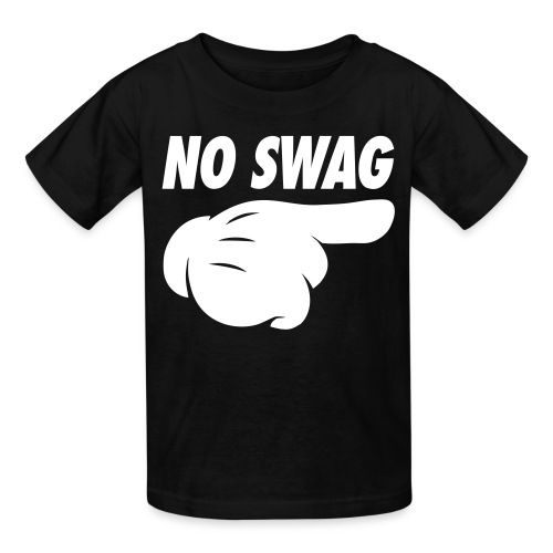 No Swag Kids' Shirts - stayflyclothing.com - Kids' T-Shirt