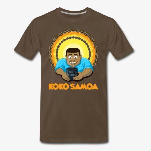 Samoan Chocolate - Men's Premium T-Shirt