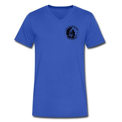 Standard V-neck - Men's V-Neck T-Shirt by Canvas