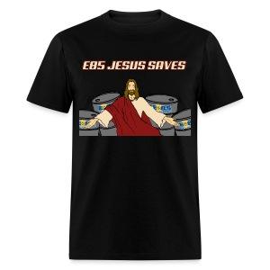 E85 Jesus Saves! - Men's T-Shirt