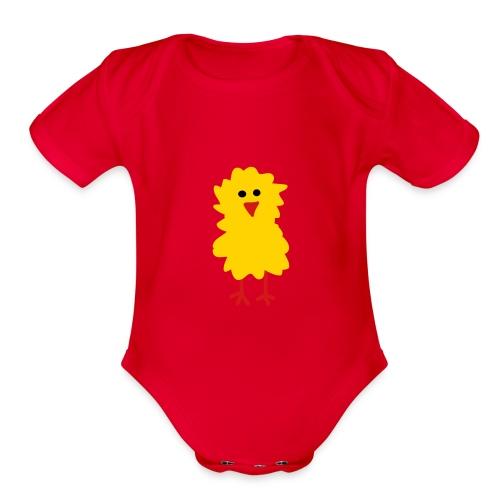 Baby Bird  - Organic Short Sleeve Baby Bodysuit