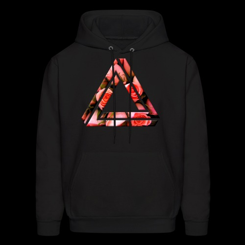 Rose Triangle - Men's Hoodie