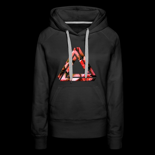Women's Rose Triangle - Women's Premium Hoodie