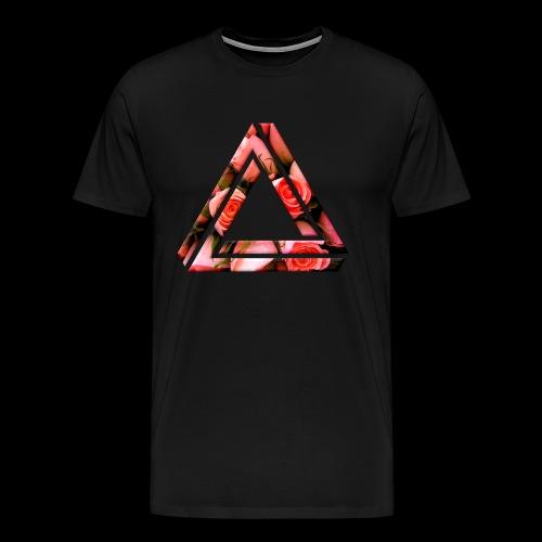 Rose Triangle T-Shirt - Men's Premium T-Shirt