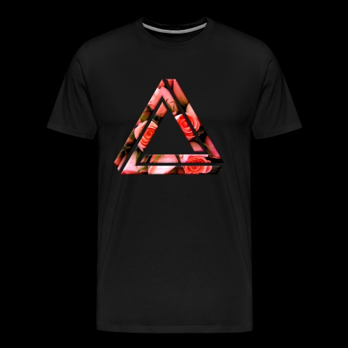 Rose Triangle T-Shirt - Men's Premium T-Shirt