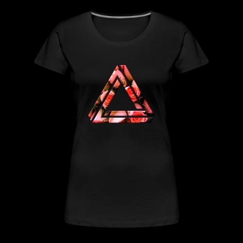 Women's Rose Triangle T-Shirt - Women's Premium T-Shirt