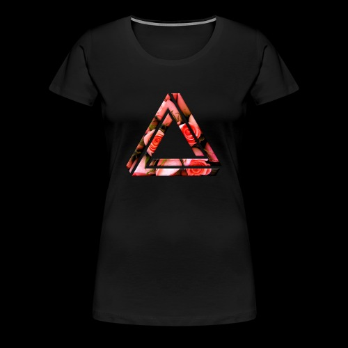 Women's Rose Triangle T-Shirt - Women's Premium T-Shirt