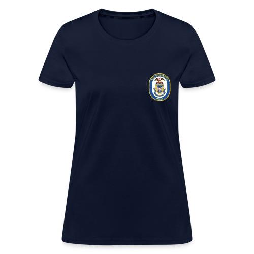 USS VICKSBURG CG-69 Crest Tee - Women's - Women's T-Shirt