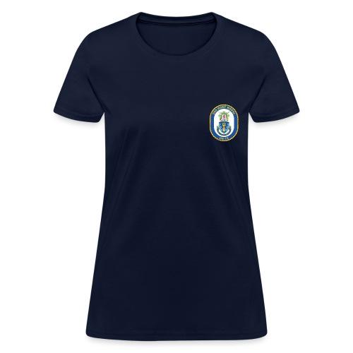 USS PORT ROYAL CG-73 Crest Tee - Women's - Women's T-Shirt