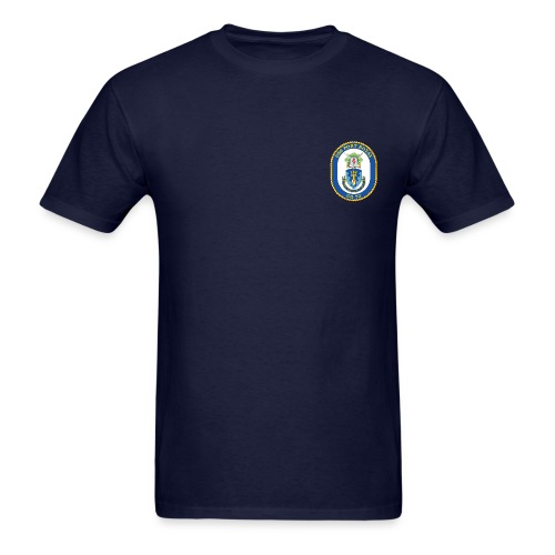 USS PORT ROYAL CG-73 Crest Tee - Men's T-Shirt