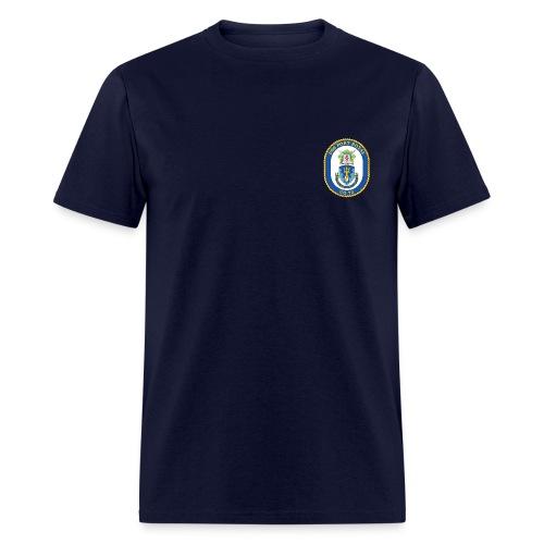 USS PORT ROYAL CG-73 Crest Tee - Men's T-Shirt