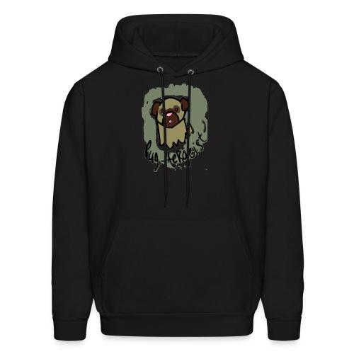 Pug-tergeist Hoodie (M) - Men's Hoodie