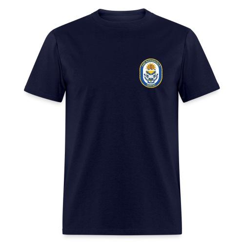 USS ROOSEVELT DDG-80 Crest Tee - Men's T-Shirt