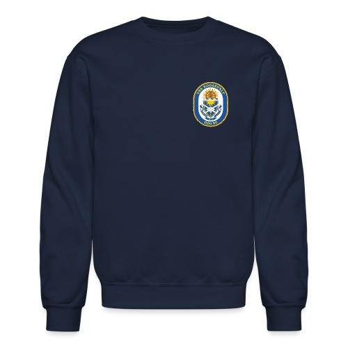 USS ROOSEVELT DDG-80 Crest Sweatshirt - Crewneck Sweatshirt