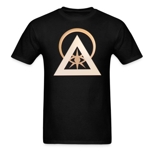Illuminati  eye circle official logo - Men's T-Shirt