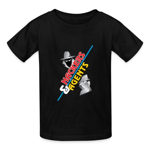 Hackers & Agents Kids Shirt - Kids' T-Shirt
