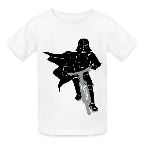 Vader on Bike - Kids' T-Shirt