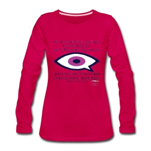 No Bullying  - Women's Premium Long Sleeve T-Shirt