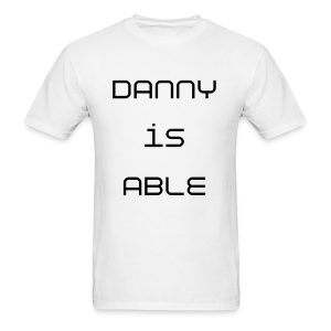Danny is Able - Men's T-Shirt