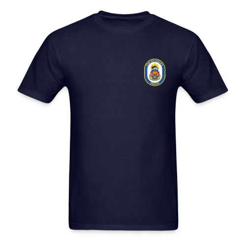 USS BULKELEY DDG-84 Crest Tee - Men's T-Shirt