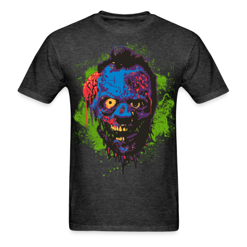 Zombie Head - Men's T-Shirt