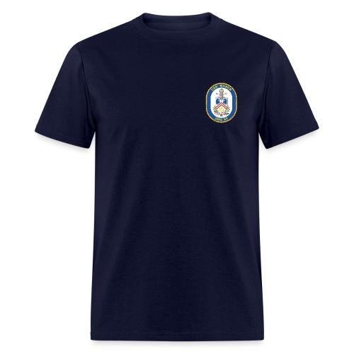USS MASON DDG-87 Crest Tee - Men's T-Shirt