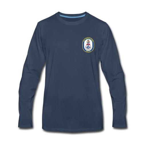 USS CHUNG-HOON DDG-93 Crest Long Sleeve - Men's Premium Long Sleeve T-Shirt