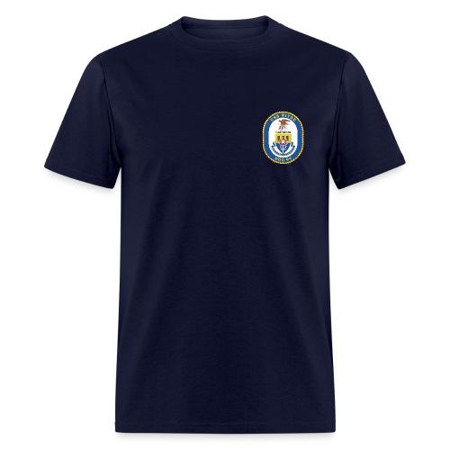 USS NITZE DDG-94 Crest Tee - Men's T-Shirt