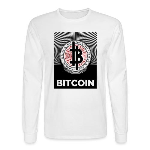 Bitcoin - Men's Long Sleeve T-Shirt